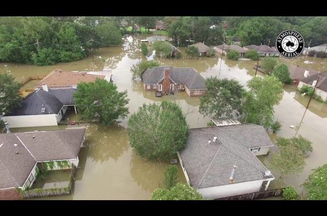 Louisiana Flood Of 2016: Watch Aerial Video Of Flooding In Baton Rouge Woodlawn Area
