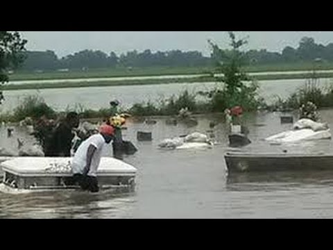 Louisiana Man Made Flood And Zika