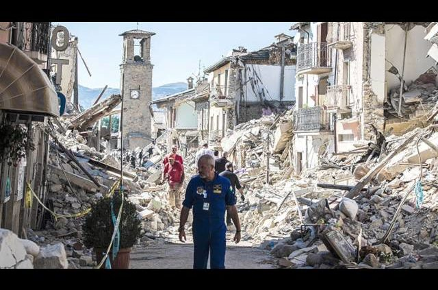 Professor Griff-  Italy Earthquake, Louisiana Floods, And End Time Events
